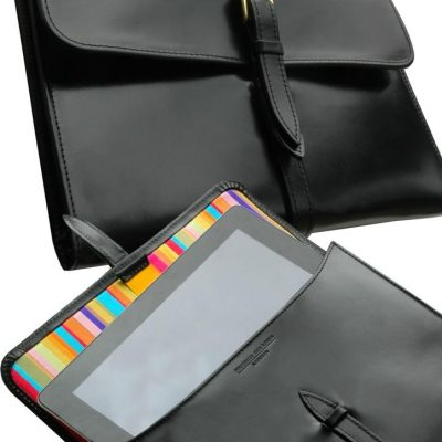 ipad handmade leather golf scorecards